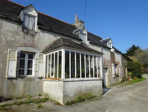 Potentiel pour cette maison 1900 à rénover entièrement